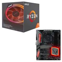 AMD Ryzen 7 2700X with Wraith Prism Cooler, ASRock X470 Gaming K4 CPU/Motherboard Bundle
