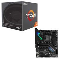 AMD Ryzen 7 2700 with Wraith Spire Cooler, ASUS ROG Strix X470-F Gaming CPU/Motherboard Bundle