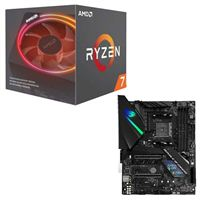 AMD Ryzen 7 2700X with Wraith Prism Cooler, ASUS ROG Strix X470-F Gaming CPU/Motherboard Bundle