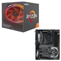 AMD Ryzen 7 2700X with Wraith Prism Cooler, ASRock X470 Taichi CPU/Motherboard Bundle