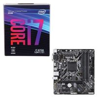 Intel Core i7-8700, Gigabyte B360M DS3H, CPU/Motherboard Bundle