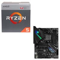 AMD Ryzen 5 2400G with Wraith Stealth Cooler, ASUS ROG Strix X470-F Gaming, CPU/Motherboard Bundle