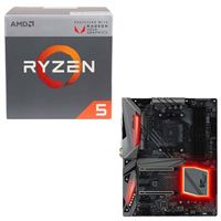 AMD Ryzen 5 2400G with Wraith Stealth Cooler, ASRock Fatal1ty X470 Gaming K4, CPU/Motherboard Bundle