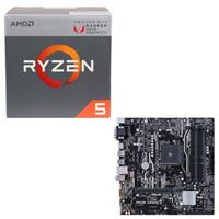 AMD Ryzen 5 2400G with Wraith Stealth Cooler, ASUS Prime A320M-A AM4, CPU/Motherboard Bundle
