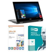 Dell Inspiron 13 5379 7923, 1 Year Office 365 Personal, 1 Year NOD32 Antivirus, Laptop Bundle