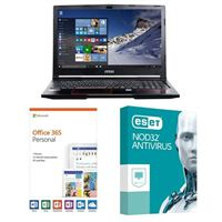 MSI GP63 Leopard-033, 1 Year Office 365 Personal, 1 Year NOD32 Antivirus, Laptop Bundle
