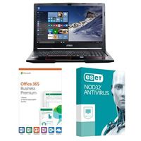 MSI GP63 Leopard-033, 1 Year Office 365 Business Premium, 1 Year NOD32 Antivirus, Laptop Bundle