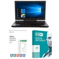 Dell G5 15 5587 5542, Office 2019 Home and Business, 2 Year NOD32 Antivirus, Laptop Bundle