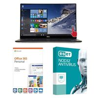 Dell XPS 15 9570, 1 Year Office 365 Personal, 1 Year NOD32 Antivirus, Laptop Bundle