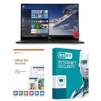 Dell XPS 15 9570, 1 Year Office 365 Personal, 1 Year ESET Internet Security, Laptop Bundle