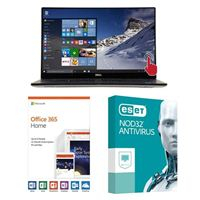 Dell XPS 15 9570, 1 Year Office 365 Home, 1 Year NOD32 Antivirus, Laptop Bundle