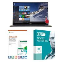 Dell XPS 15 9570, 1 Year Office 365 Business Premium, 1 Year NOD32 Antivirus, Laptop Bundle