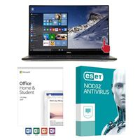 Dell XPS 15 9570, Office 2019 Home and Student, 2 Year NOD32 Antivirus, Laptop Bundle