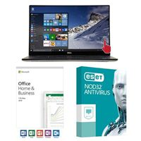Dell XPS 15 9570, Office 2019 Home and Business, 2 Year NOD32 Antivirus, Laptop Bundle