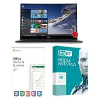 Dell XPS 15 9570, Office 2019 Home and Business, 3 Year NOD32 Antivirus, Laptop Bundle