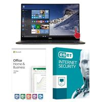 Dell XPS 15 9570, Office 2019 Home and Business, 3 Year ESET Internet Security, Laptop Bundle
