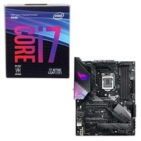 Intel Core i7-8700, ASUS ROG Strix Z390-E Gaming, CPU / Motherboard Bundle