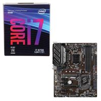 Intel Core i7-8700, MSI Z390-A Pro, CPU / Motherboard Bundle
