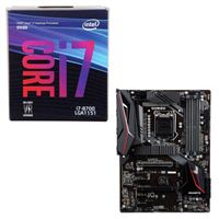 Intel Core i7-8700, Gigabyte Z390 Gaming X, CPU / Motherboard Bundle