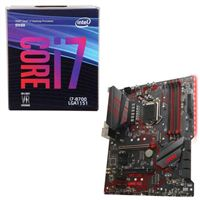 Intel Core i7-8700, MSI MPG Z390 Gaming Plus, CPU / Motherboard Bundle