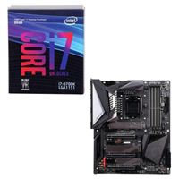 Intel Core i7-8700K, Gigabyte Z390 Aorus Ultra, CPU / Motherboard Bundle