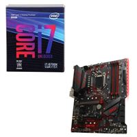 Intel Core i7-8700K, MSI MPG Z390 Gaming Plus, CPU / Motherboard Bundle