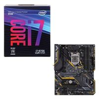 Intel Core i7-8700, ASUS TUF Z390-Plus Gaming WiFi, CPU / Motherboard Bundle