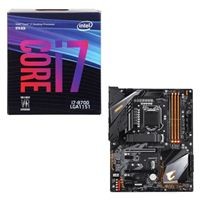Intel Core i7-8700, Gigabyte Z390 Aorus Elite, CPU / Motherboard Bundle
