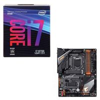 Intel Core i7-8700, Gigabyte Z390 Aorus Pro WiFi, CPU / Motherboard Bundle