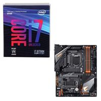 Intel Core i7-8700K, Gigabyte Z390 Aorus Pro WiFi, CPU / Motherboard Bundle