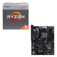 AMD Ryzen 5 2400G with Wraith Stealth Cooler, ASUS ROG STRIX B450-F Gaming CPU / Motherboard Bundle