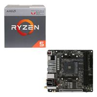 AMD Ryzen 5 2400G with Wraith Stealth Cooler, ASRock Fatal1ty B450 Gaming CPU / Motherboard Bundle