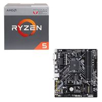 AMD Ryzen 5 2400G with Wraith Stealth Cooler, Gigabyte B450M DS3H CPU / Motherboard Bundle
