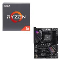 AMD Ryzen 5 2600 with Wraith Stealth Cooler, ASUS ROG STRIX B450-F Gaming CPU / Motherboard Bundle