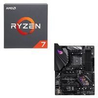 AMD Ryzen 7 2700 with Wraith Spire Cooler, ASUS ROG STRIX B450-F Gaming CPU / Motherboard Bundle