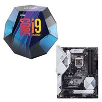 Intel Core i9-9900K, ASUS Prime Z390-A, CPU / Motherboard Bundle