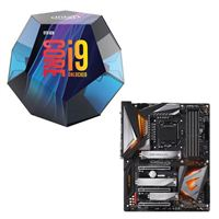 Intel Core i9-9900K, Gigabyte Z390 Aorus Ultra, CPU / Motherboard Bundle