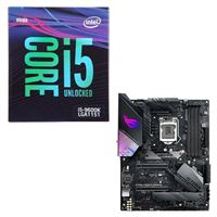 Intel Core i5-9600K, ASUS ROG Strix Z390-E Gaming, CPU / Motherboard Bundle