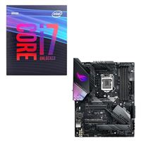 Intel Core i7-9700K, ASUS ROG Strix Z390-E Gaming, CPU / Motherboard Bundle