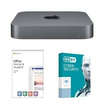 Apple Mac Mini, Office Home and Student 2019, 3 Years ESET Cyber Security Desktop Computer Bundle