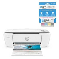 HP DeskJet 3755 All-in-One Printer bundle includes an HP Instant Ink $5 Prepaid Card