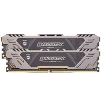 Crucial Ballistix Sport AT 16GB - Bundle of two 8GB DDR4-3000 PC4-24000 CL17 Memory Modules