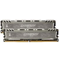 Crucial Ballistix Sport LT 16GB - Bundle of two 8GB DDR4-3200 PC4-25600 CL16 Memory Modules -Gray