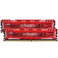 Crucial Ballistix Sport LT 32GB - Bundle of two 16GB DDR4-3200 PC4-25600 CL16 Memory Modules - Red