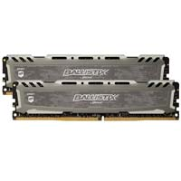 Crucial Ballistix Sport LT 16GB - Bundle of two 8GB DDR4-2666 PC4-21300 CL16 Memory Modules - Gray
