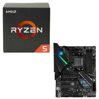 AMD Ryzen 5 1600 with Wraith Spire Cooler, ASUS ROG Strix X470-F Gaming, CPU / Motherboard Bundle