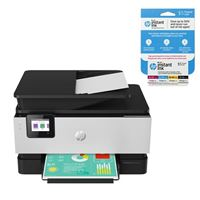 HP OfficeJet Pro 9015 All-in-One Printer bundle includes an HP Instant Ink $5 Prepaid Card