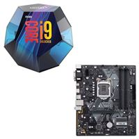 Intel Core i9-9900K, ASUS Prime B360M-A, CPU / Motherboard Bundle