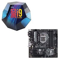 Intel Core i9-9900K, ASUS Prime H370M-Plus, CPU / Motherboard Bundle