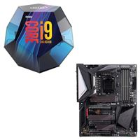 Intel Core i9-9900K, Gigabyte Z390 Aorus Master, CPU / Motherboard Bundle